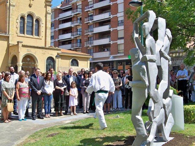 Homenaje a víctimas en Getxo