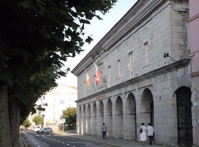 Sede del Parlamento de Cantabria