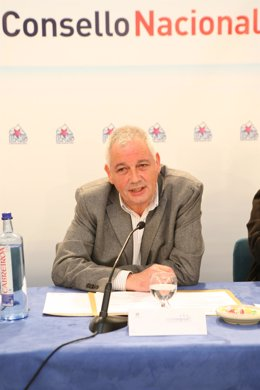 Guillerme Vázquez en el Consello Nacional del BNG