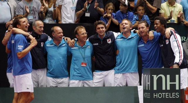 Francia elimina a España en la Copa Davis