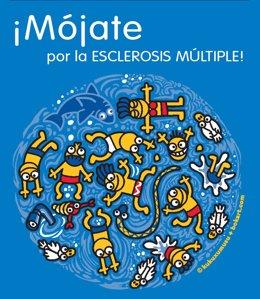 Campaña por la esclerosis múltiple 'Mojate'