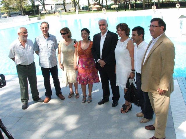 Inauguración en Montilla