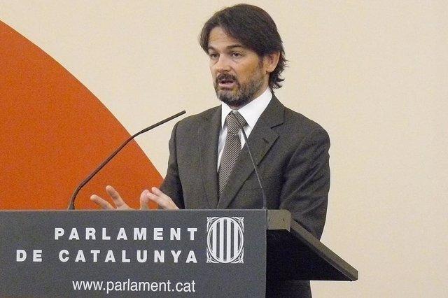 El Portavoz Parlamentario De Ciu, Oriol Pujol.