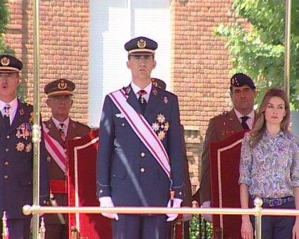 Los Príncipes entregan hoy despachos en la Academia de Suboficiales de Talarn (Lleida)