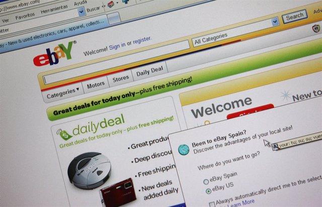 web de subastas ebay