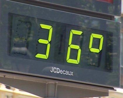 Un total de once provincias, entre ellas Albacete, permanecen en situación de alerta amarilla con máximas de 36 grados