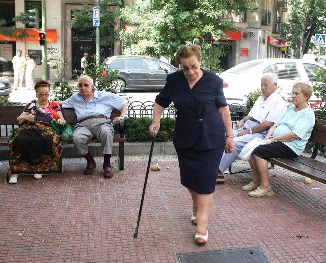 ancianos mayores Alzheimer