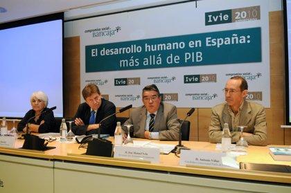 Las diferencias interregionales se redujeron un 50% en España desde 1980, con fuertes caídas de pobreza y desigualdad