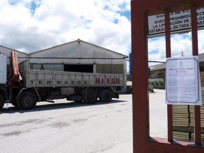 CIG-Construcción denuncia que el fallecido en un accidente laboral en O Porriño trabajaba pese a ser festivo local