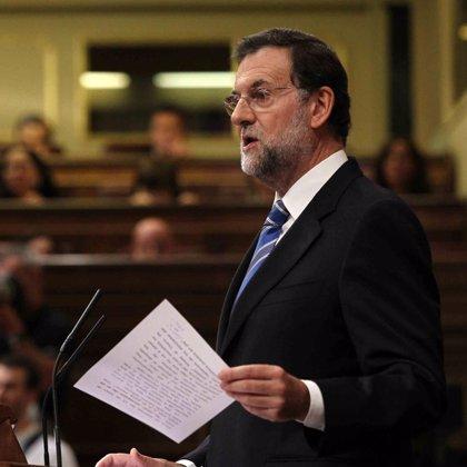 """Rajoy acusa a Zapatero de crear con el Estatut """"una crisis institucional"""""""