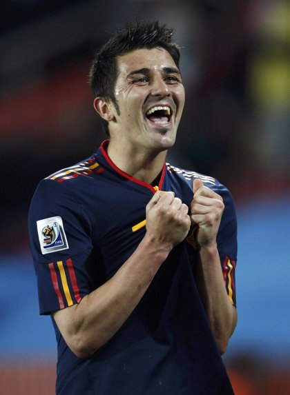 Fútbol/Selección.- Villa agradece desde Tuilla el apoyo de la afición a la selección durante todo el Mundial