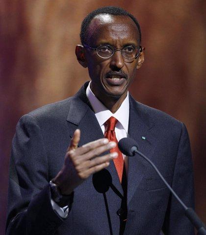 ONG protestan contra Kagame