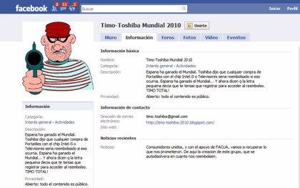 FACUA denuncia a Toshiba y TomTom ante las autoridades de Consumo