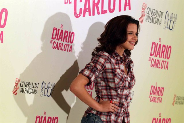 Presentación película 'El diario de Carlota'