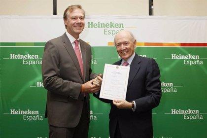 RSC.-La Fundación Másfamilia entrega a Heineken España un certificado por mejorar la calida de vida de sus trabajadores