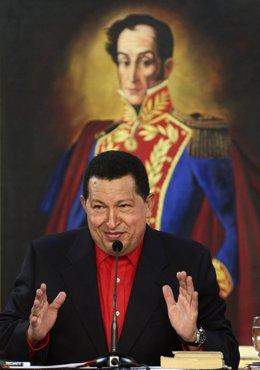 Hugo Chávez, presidente de la República Bolivariana de Venezuela
