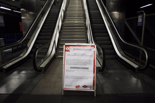 Recurso de la huelga en Metro de Madrid