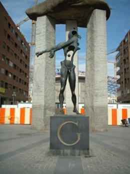 El arte de Dalí está presente en la capital