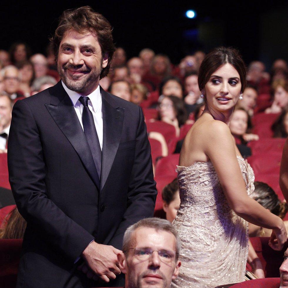 Penélope Cruz y Javier Bardem en el Festival de Cannes