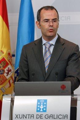 Jesús Vázquez, conselleiro de Educación