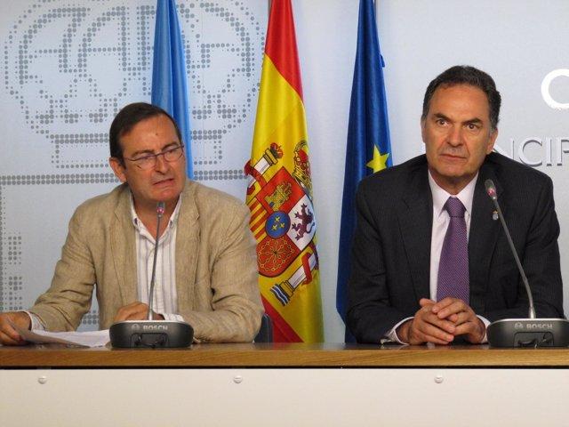 José Ramón Riera y José Ramón Quirós