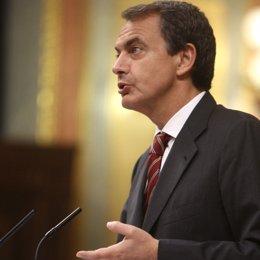 Zapatero, en el Debate del estado de la Nación