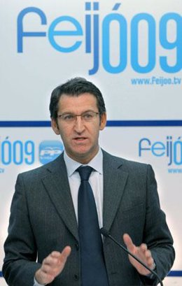 El Presidente Del Ppdeg, Alberto Núñez Feijóo