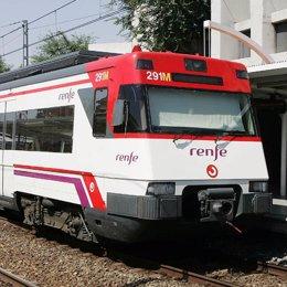 tren renfe cercanias estacion