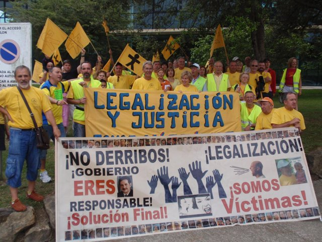 Momento de la 'VI Marcha a Santander'