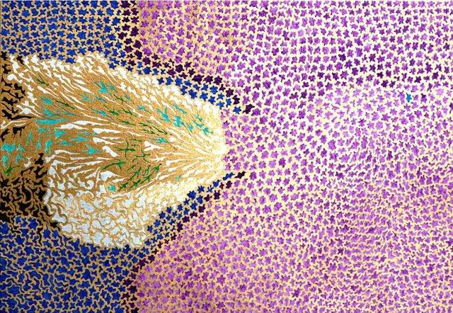 Una de las obras de 'Huellas Visuales'