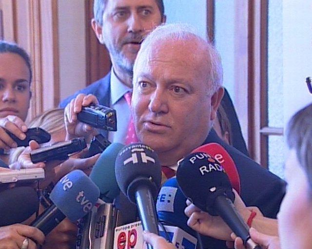 el ministro Miguel angel Moratinos sobre presos politicos cubanos y la victoria