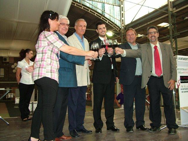 Arguilé inaugura la I Muestra del Vino de los Monegros (Huesca)