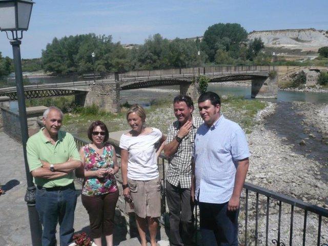 Ibeas visita Santa Cilia de Jaca (Huesca)