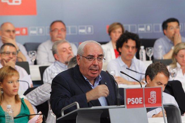 Areces en el Comité Federal del PSOE