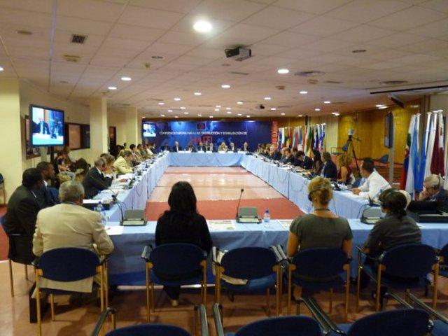 Conferencia Europea para la Reconstrucción de Haití que se celebra en Lugo.