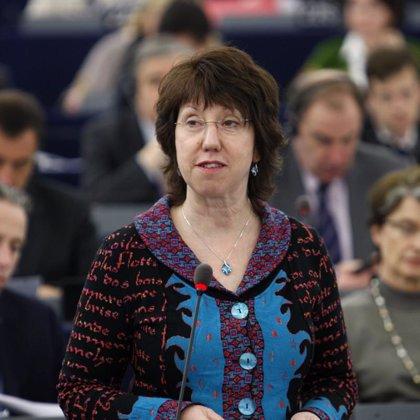 Ashton pide desde Gaza a Israel que alivie más el bloqueo