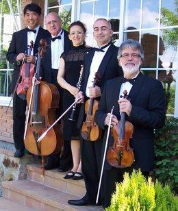 Grupo de música madrleño Orfeo Ensemble.