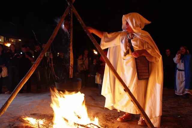 Fiesta del Plenilunio en Tiermes.