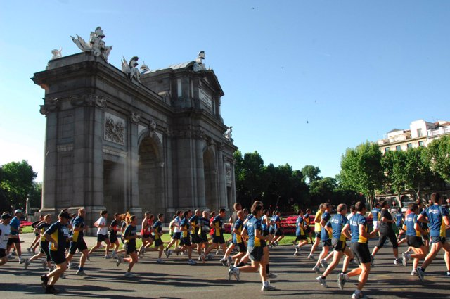 Carrera popular en Madrid
