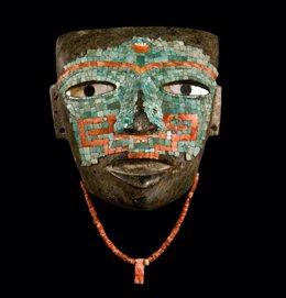 Máscara de Malinaltepec que se verá en CaixaForum Barcelona