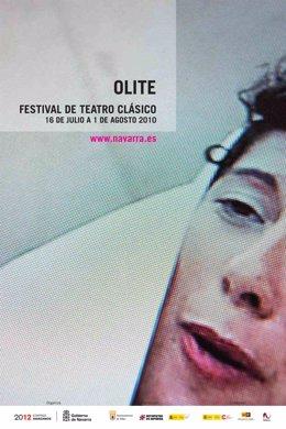 Cartel del Festival de Olite 2010.