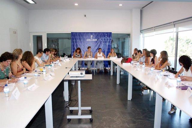 La consejera en el Consejo Regional de la Mujer
