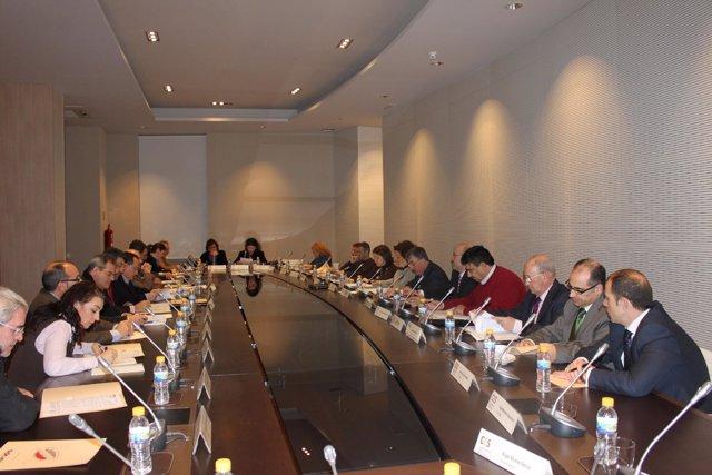 Foto de archivo de un pleno del CES
