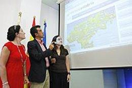 Presentación del portal meteorológico de Cantabria