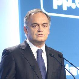 Esteban González Pons (PP) en Génova