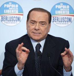 El primer ministro de Italia, Silvio Berlusconi
