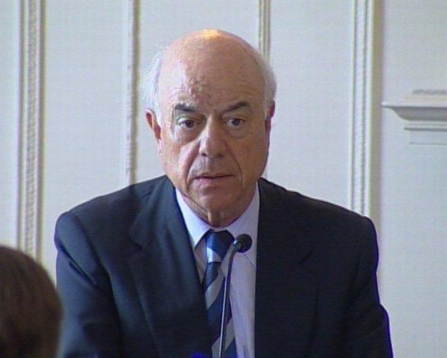 Francisco González presidente del BBVA