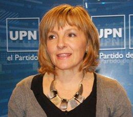 María Caballero, senadora de UPN.