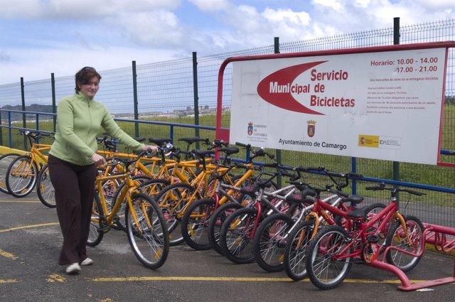 Servicio de préstamo de bicicletas de Camargo
