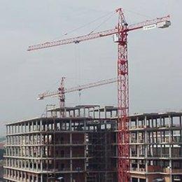 Edificio construccion grua